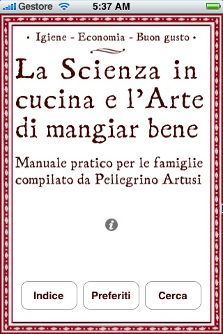 You are browsing images from the article: Artusi: La scienza in cucina e l'arte di mangiar bene