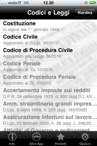 You are browsing images from the article: Codici civile e procedura civile